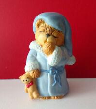 Lucy & Me Sleepy Time for Bed Teddy Bear Enesco Figurine