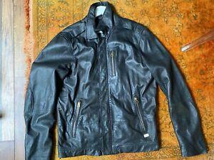 Diesel leather jacket size L
