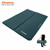 KingCamp Double/Single Self-Inflating Mattress Pad Sleeping Mat Outdoor Hiking