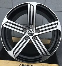 "18"" WHEELS FOR VW GOLF MK5 MK6 MK7 CC JETTA PASSAT GTI with TIRES Volkwagen"