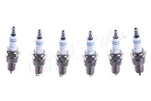 Genuine BMW E23 E24 E28 E30 Ignition Spark Plug SET 6pcs OEM 12121279599