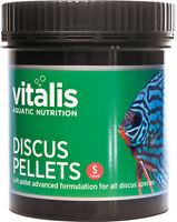 New Era Vitalis Discus Sinking Pellets Aquarium Fish Food 1.5mm in 120g or 300g
