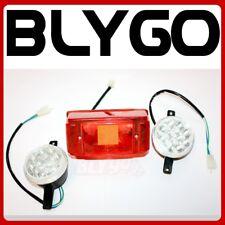 12V Left Right Head + Tail Light Lamp 150cc 250cc Bull Farm Quad Dirt Bike ATV