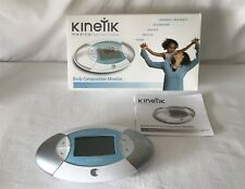 Barely Used Box Kinetik Body Fat Composition Monitor Analyser BCM1 C