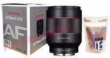 Samyang AF 50mm F1.4 FE Auto Focus Full Frame UMC Standard Lens for Sony E mount