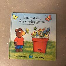 Ben und sein Schmetterlingsgarten ein Klapp Bilderbuch