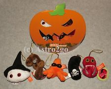 GIANT MICROBES-HALLOWEEN MINIS PUMPKIN BOX--Ebola Anthrax Flesh Eating Ornaments
