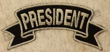 Patch écusson Nº 89 president biker moto Colour écusson patch emblèmes