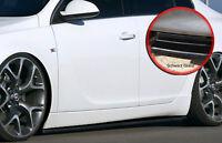 CUP Seitenschweller Schweller ABS für Opel Insignia OPC Line schwarz glänzend
