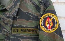 Vietnam War Style USMC Tiger Stripe BDU Jacket Size Small Regular SR