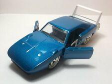 Jada 1:32 1969 Dodge Charger Blue Car Diecast
