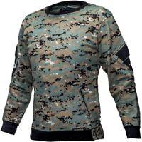 Tactical Recon Military Fleece Sweatshirt Army Combat Pull Over Sweater - MARPAT