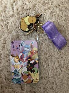 Pokemon Eevee Evolutions Anime Keychain Lanyard Rubber Charm Nintendo Umbreon