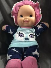 "Goldberger Babys First 13"" Soft ""Giggles"" Cloth Plush Baby Doll Vinyl Face Gift"