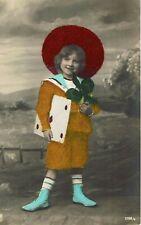 VINTAGE POSTCARD. CUTE LITTLE BOY. 1909.