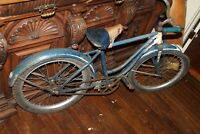 "Raycycle Vintage Boys Bike Bicycle Westfield Mass Approx 17"" Wheels"