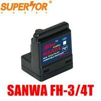 RSA04 4CH receiver FH-3/FH-4T compatible Sanwa RX-482 M12 M11X MT-4 MX-3X M12S