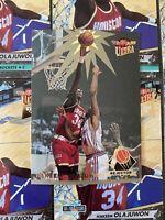 MINT Hakeem Olajuwon 1992-93 Fleer Ultra #204Jam Session Rejector #3 10 Card Lot