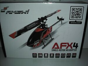 Amewi  AFX4 Single-Rotor Helikopter 4-Kanal 6G RTF 2,4GHz 25312 RC Hubschrauber