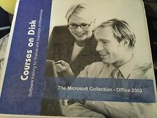 Courses on Disk CDROM Set - Microsoft Office 2003 - Word Excel Powerpoint Access