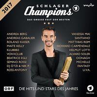 SCHLAGERCHAMPIONS - DAS GROßE FEST DER BESTEN  2 CD NEU
