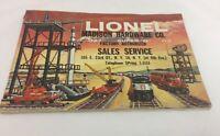 Lionel Trains 1958 Catalog Original Madison Hardware New York Vintage