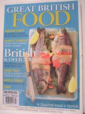 GREAT BRITISH FOOD MAGAZINE, SEPTEMBER 2012 ISSUE 35