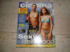 PAUL WALKER rare import CINEMA cover magazine Jessica Alba