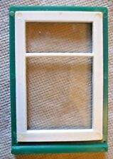 Vintage Dolls House DIY - Caroline's Home Single Split Glazed Green Window #1