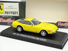 Detail Cars 1/43 - Ferrari 365 Daytona Coupe Jaune
