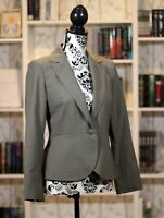 "Lafayette 148 New York Blazer Suit, 2 Pieces Size 2 Petite ""Sage"" Green/Gray NWT"