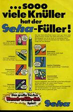 Geha --sooo viele Knüller hat der Geha  Füller -- Werbung von 1969 -