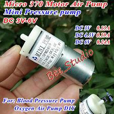 DC 3V 5V 6V Mini 370 Motor Air Pump Micro Oxygen Pump Fish Water Tank Aquarium