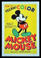 MICKEY MOUSE DISNEY VINTAGE MOVIE POSTER FILM A4 A3 ART PRINT CINEMA #2