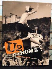 U2 Go Home Live Slane Castle Ireland DVD 03' Limited Edition MUSIC VTG BONO Edge