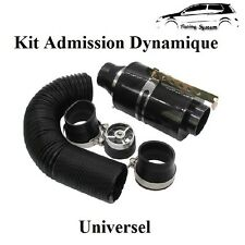 Kit D'admission Direct Dynamique Carbon Universel Boite Filtre à Air 306,407,C4
