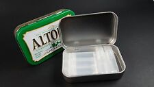 Survival kit EMPTY tin and 5 mini containers for camping & hiking, EDC