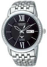 Citizen Sapphire Swarovski Crystal Deco Automatic Men's Watch NH8270-56E
