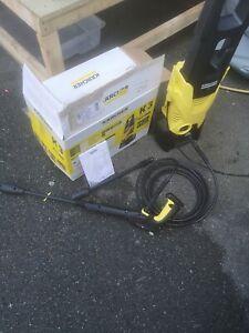 Karcher K3 Home Pressure Washer, 1600 W, 240 V, Yellow/Black