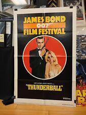 JAMES BOND 007 FILM FESTIVAL style B 1sh '75 Sean Connery/ THUNDERBALL