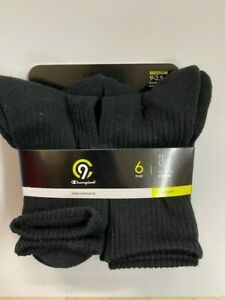 Champion Youth Crew Socks- 6 Pack
