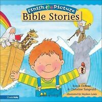 Finish-the-Picture Bible Stories by Tangvald, Christine Harder , Board book