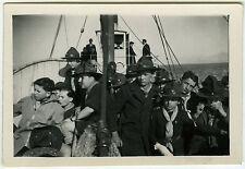 PHOTO ANCIENNE - SCOUT SCOUTISME MARIN BATEAU MER - BOAT SEA - Vintage Snapshot