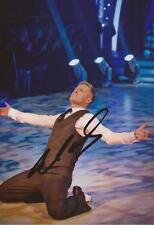 STRICTLY COME DANCING: NICKY BYRNE SIGNED 6x4 ACTION PHOTO+COA *WESTLIFE*