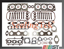 Fit 99-2005 Mitsubishi 6G72 SOHC 24V V6 Engine Cylinder Head Gasket Set w/ Bolts