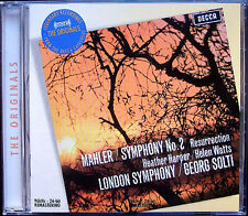 Sir Georg Solti: MAHLER SYMPHONY NO. 2 Heather Harper Helen Watts CD RESURRECTION