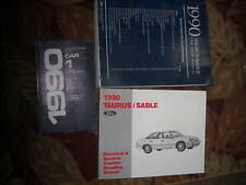 1990 Ford Taurus & Mercury Sable Service Shop Reparatur Manuell Set W Evtm +