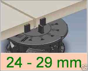 96 Stelzlager 24-29mm verlegen terrasse balkon flachdach verstellbar