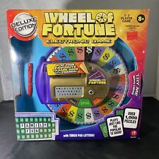 Wheel Of Fortune - Electronic Game NEW Deluxe Edition - 2009 Irwin Toys  #03100
