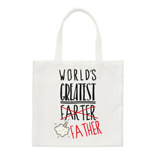 World's Greatest Farter padre Small Tote Bag-Papá Padres Día Divertido De Hombro